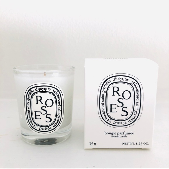 Diptyque mini travel candle - ROSES